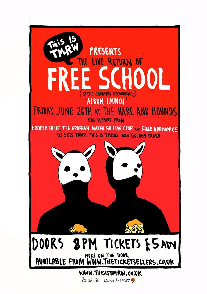 Free School Poster