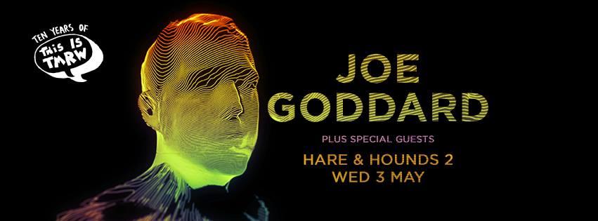 Joe Goddard (Live)