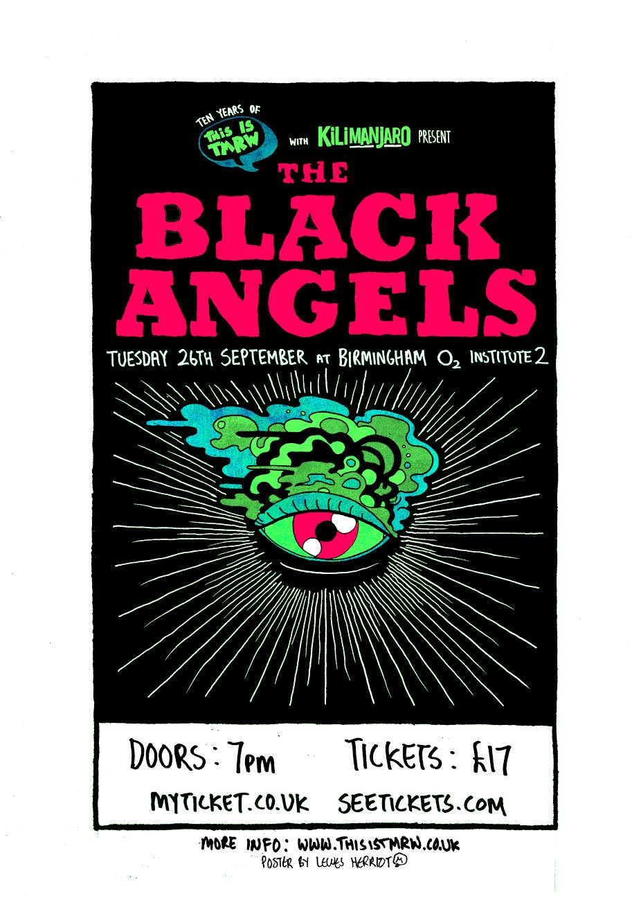 TIT BLACK ANGELS POSTER